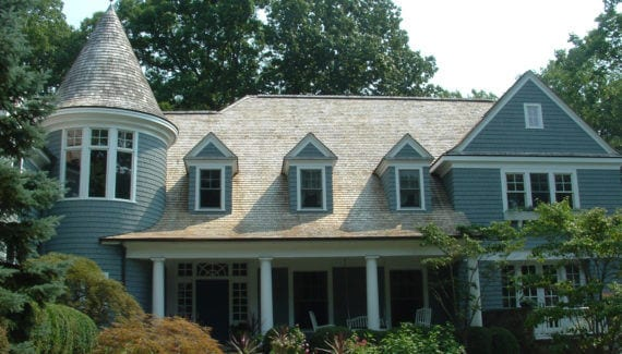 Victorian House Renovation with a Turret in Chappaqua,New York