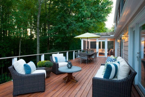 Mahgony-Deck-Replacement-in-New-Canaan,-CT