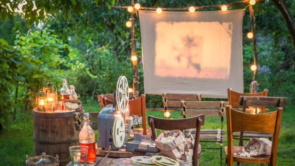 Build Your Own Outdoor Theater