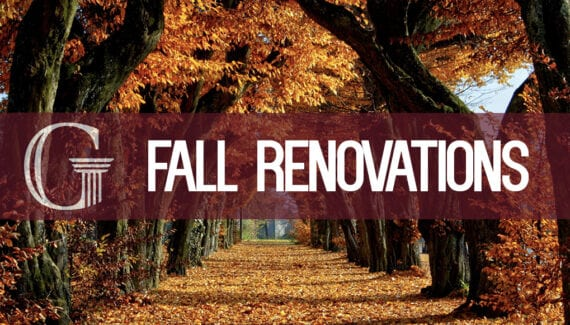 Fall Renovations
